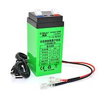 Аккумуляторная батарея литиевая QSuo 4V 4A с элементами Li-ion 18650  (47X47X100)