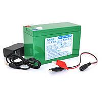 Аккумуляторная батарея литиевая QSuo 12V 8A с элементами Li-ion 18650  (150X64,5X97,7)  + зарядное устройство