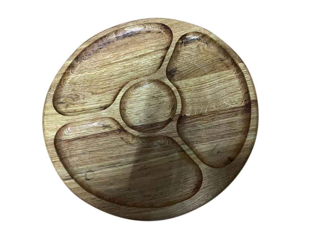 Менажница деревянная d=300 мм