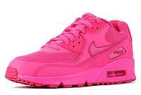 Кроссовки женские Nike Air Max 90 Premium (nike max, найк аир макс, nike air, аир 90, оригинал) розовые