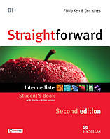 Straightforward (2nd Edition) Intermediate SB & Webcode & eBook