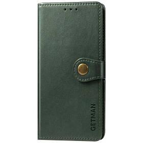 Кожаный чехол книжка GETMAN Gallant (PU) для Samsung Galaxy M31