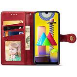 Шкіряний чохол книжка GETMAN Gallant (PU) для Samsung Galaxy M31, фото 2