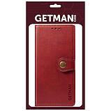 Шкіряний чохол книжка GETMAN Gallant (PU) для Samsung Galaxy M31, фото 5