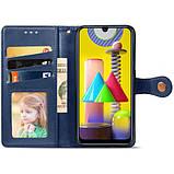 Шкіряний чохол книжка GETMAN Gallant (PU) для Samsung Galaxy M31, фото 6