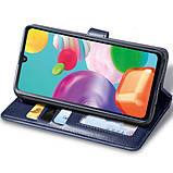 Шкіряний чохол книжка GETMAN Gallant (PU) для Samsung Galaxy M31, фото 7