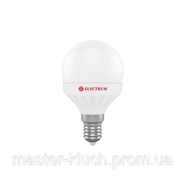 Лампа светодиодная шар Electrum LED LB-32 6Вт E14 3000K