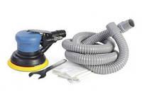 Пневматическая шлифовальная машинка эксцентриковая с пылесборником 125мм Miol 81-644