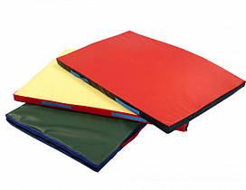 Мат гимнастический спортивный для детей  «Мат 120х100х4» ТМ SportBaby