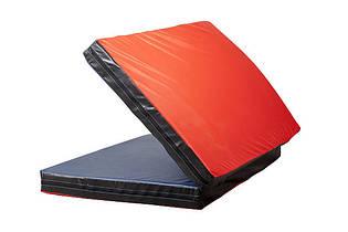 Мат гимнастический спортивный для детей  «Книжка 2х1» ТМ SportBaby, размеры 200х100х8см
