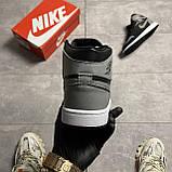 Мужские кроссовки Nike Air Jordan 1 Retro High Shadow (копия), фото 7