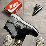 Мужские кроссовки Nike Air Jordan 1 Retro High Shadow (копия), фото 8