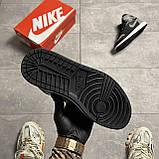Мужские кроссовки Nike Air Jordan 1 Retro High Shadow (копия), фото 9