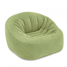Надувні велюрові крісла