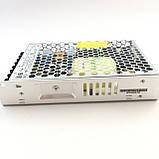 Блок питания для светодиодной ленты 24В 150Вт MEAN WELL LRS-150-24. Блок питания Минвел 24V, фото 4