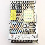 Блок питания для светодиодной ленты 24В 150Вт MEAN WELL LRS-150-24. Блок питания Минвел 24V, фото 3