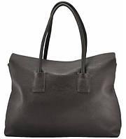 Женская сумка POOLPARTY SENSE BROWN кожаная коричневая