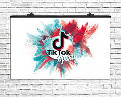Плакат для праздника Тик Ток-2, 75х120 см