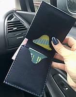 Кожаный кошелек ручной работы с именной гравировкой. Мужской кожаный бумажник с гравировкой. Подарок для мужа.