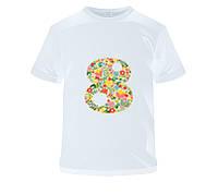 """Женская футболка с принтом """"8 Марта. Цветы"""" Push IT"""