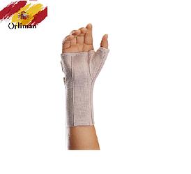 Ортез, бандаж на променезап'ястковий суглоб з фіксацією першого пальця кисті і металевими шинами MFP-80