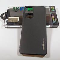 Силиконовый SMTT чехол для Samsung A72 / A725 Black