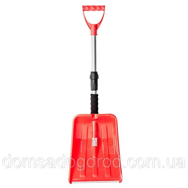 Лопата для снігу автомобільна телескопічна INTERTOOL АТ-0132