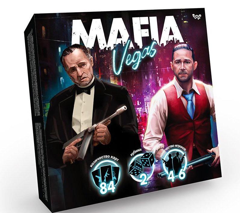 Настольная игра мафия Mafia Vegas на Русском