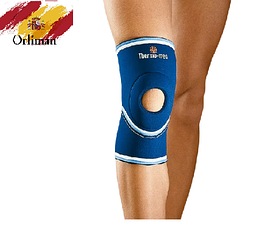 Наколінник, бандаж на коліно з відкритою колінної чашечкою 4101 (м'який ортез, фіксатор на колінний суглоб)