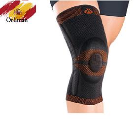 Наколінник, бандаж на коліно із закритою колінної чашечкою 9104 (ортез, фіксатор на колінний суглоб)