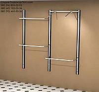Торговое оборудование Система в коробе из МДФ: два пролета