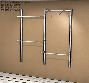 Торговое оборудование Система в коробе из МДФ: два пролета, фото 2