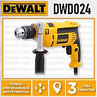 Дрель ударная DeWALT DWD024