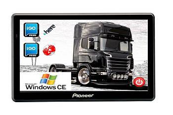 GPS навигатор Pioneer A75 Android с картой Европы для грузовиков