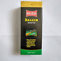 Масло Ballistol Balsin Schaftol для ухода за деревом 50 мл, светло-коричневое