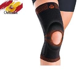 Наколінник, бандаж на коліно з відкритою колінної чашечкою 9105 (ортез, фіксатор на колінний суглоб)