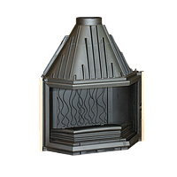 Чугунная топка для камина Invicta Prismatiquen 850, фото 1