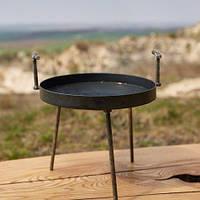 Сковорода из диска бороны 30см туристическая для пикника