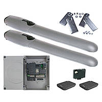 Комплект автоматики WINGO5KLT Nice для распашных ворот (ширина до 7 м), фото 1