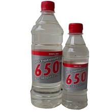 Растворитель 650 ЗБХ 0,9 л (600 г)