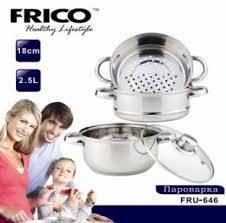 Пароварка FRICO FRU-646 2.5 л 18 см, фото 2