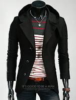 Пальто с капюшоном из кашемира