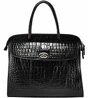 Женская сумка кожаная Сенатор черная