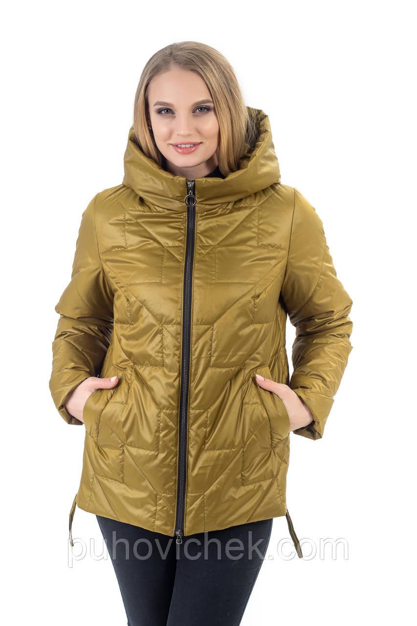 Жіноча демісезонна куртка від виробника розміри 48-60