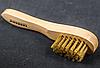 Щітка для полірування взуття Kaps LUX з кінського волосу велика