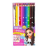 Набор цветных карандашей, 12 штук Top Model (4010070367633)