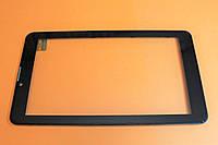 Тачскрін (сенсорний екран) для планшету чорний з рамкою Bravis NB74 YLD-CEG7253-FPC-A0 тип 2, фото 1