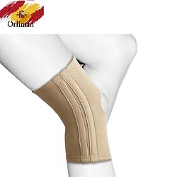 Наколінник, бандаж на коліно з бічними вставками TN - 211S Orliman (еластичний фіксатор, ортез на колінний