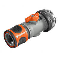 "Коннектор с регулятором Gardena 19 мм (3/4"") 02943-29.000.00"