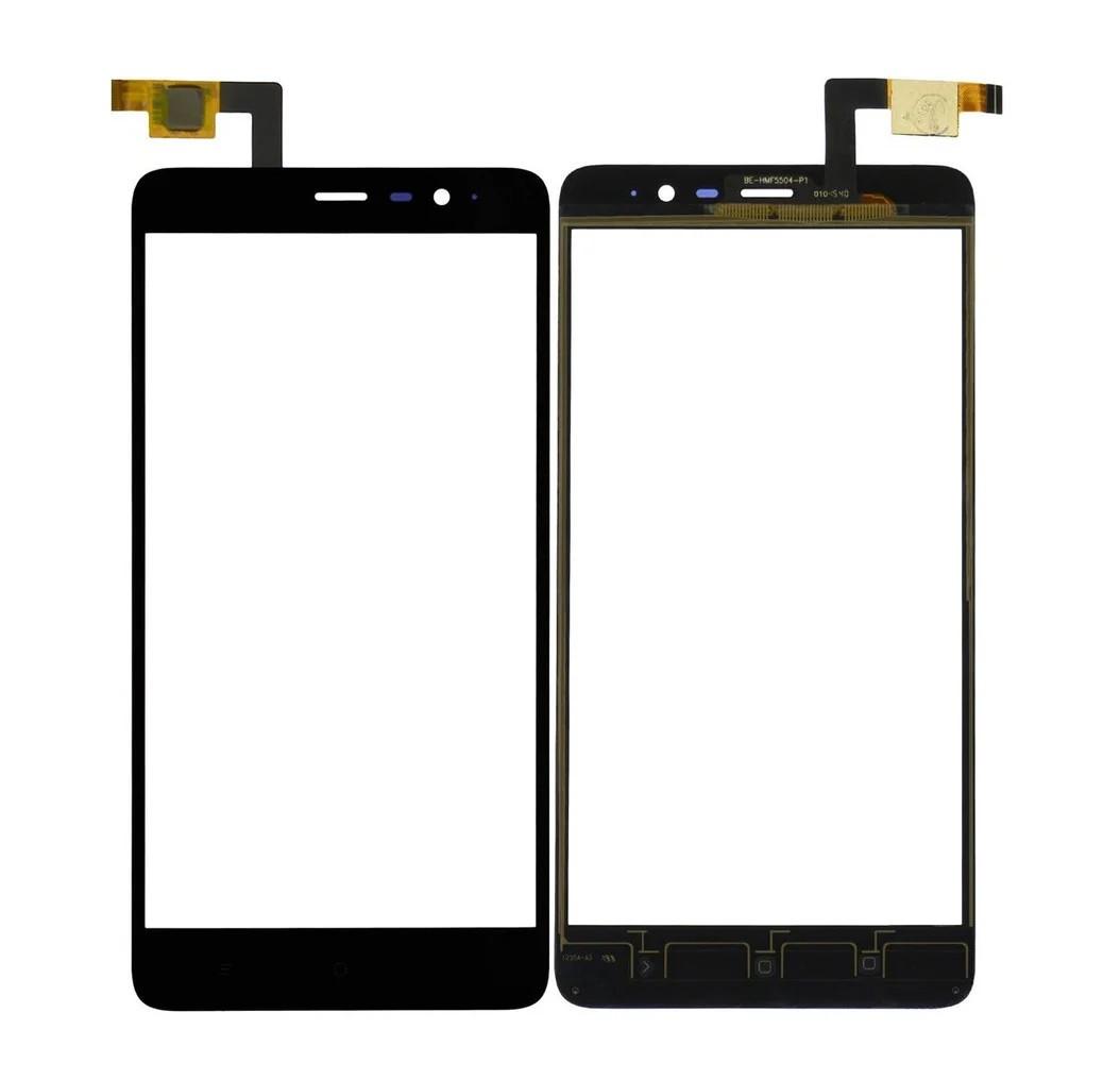 Сенсор (Тачскрин) для Xiaomi Redmi Note 2 (Черный) Оригинал Китай